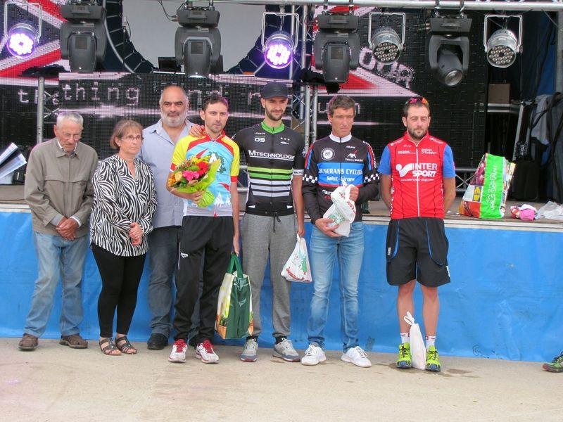 podium des 2ème