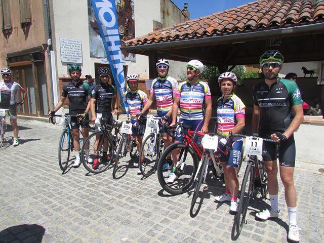 coureurs représentant le CSL